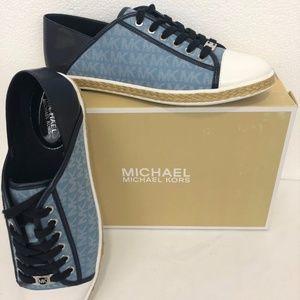 Michael Kors women Kristy Slide Sneakers Shoes 10